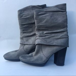 Vince Camuto | Cassandra Distressed Gray Boots